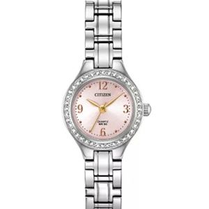 Citizen women's quartz stainless steel bracelet